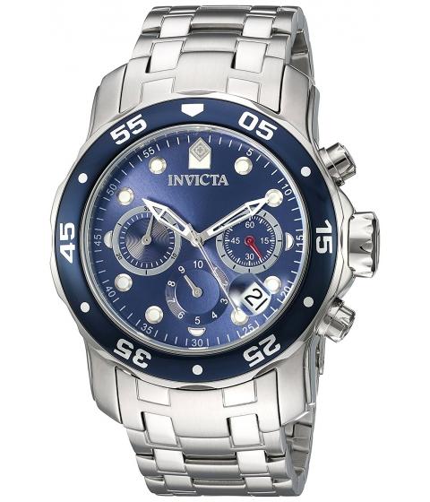 Ceasuri Barbati Invicta Watches Invicta Mens Pro Diver Quartz Stainless Steel Watch ColorSilver-Toned (Model 21921) BlueSilver