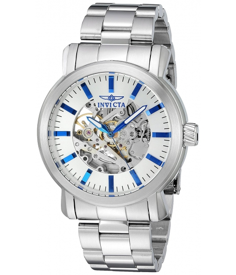 Ceasuri Barbati Invicta Watches Invicta Mens Vintage Automatic Stainless Steel Casual Watch ColorSilver-Toned (Model 22573) SilverSilver