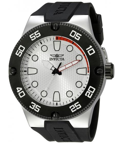 Ceasuri Barbati Invicta Watches Invicta Mens 18023 Pro Diver Analog Display Japanese Quartz Black Watch SilverBlack
