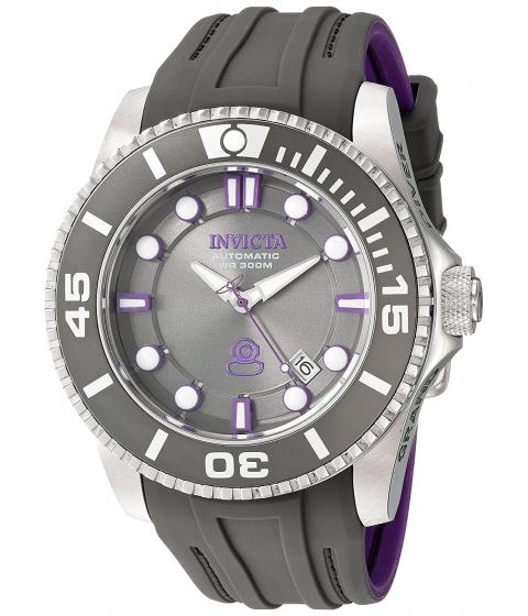 Ceasuri Barbati Invicta Watches Invicta Mens 20201 Pro Diver Automatic Grey Stainless Steel Watch GreyGrey