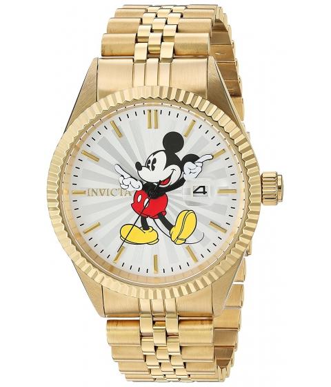 Ceasuri Barbati Invicta Watches Invicta Mens Disney Limited Edition Quartz Stainless Steel Casual Watch ColorGold-Toned (Model 22770) SilverGold