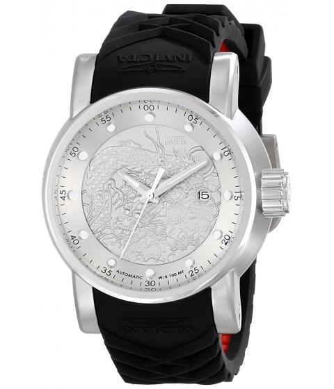 Ceasuri Barbati Invicta Watches Invicta Mens 15862 S1 Rally Analog Display Japanese Automatic Black Watch SilverBlack