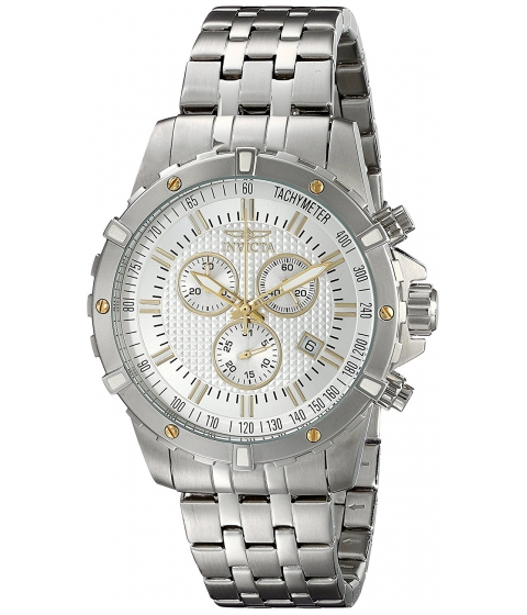 Ceasuri Barbati Invicta Watches Invicta Mens 17503 Specialty Analog Display Swiss Quartz Silver Watch SilverSilver