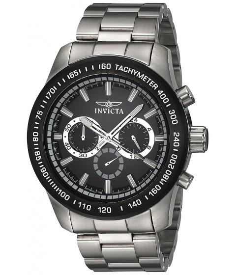 Ceasuri Barbati Invicta Watches Invicta Mens Speedway Quartz Stainless Steel Casual Watch ColorSilver-Toned (Model 21796) BlackSilver