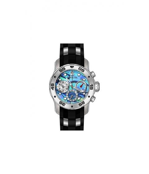 Ceasuri Barbati Invicta Watches Invicta Mens Pro Diver Quartz Stainless Steel and Polyurethane Casual Watch ColorBlack (Model 24828) BlueBlack