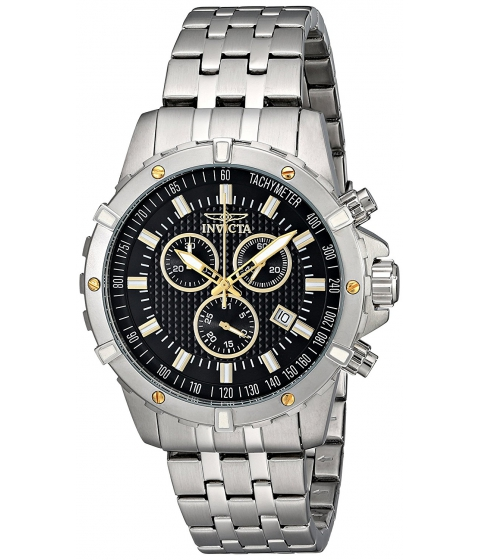 Ceasuri Barbati Invicta Watches Invicta Mens 17502 Specialty Analog Display Swiss Quartz Silver Watch BlackSilver