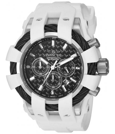Ceasuri Barbati Invicta Watches Invicta Mens Bolt Quartz Stainless Steel and Silicone Casual Watch ColorWhite (Model 23856) BlackWhite