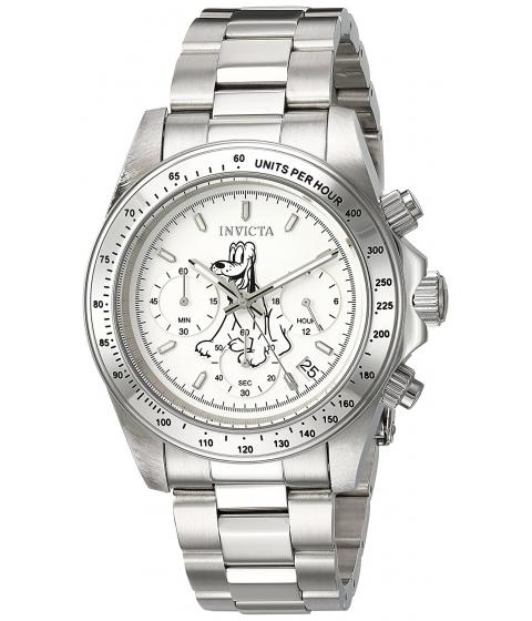 Ceasuri Barbati Invicta Watches Invicta Mens Disney Limited Edition Quartz Stainless Steel Casual Watch ColorSilver-Toned (Model 24398) WhiteSilver