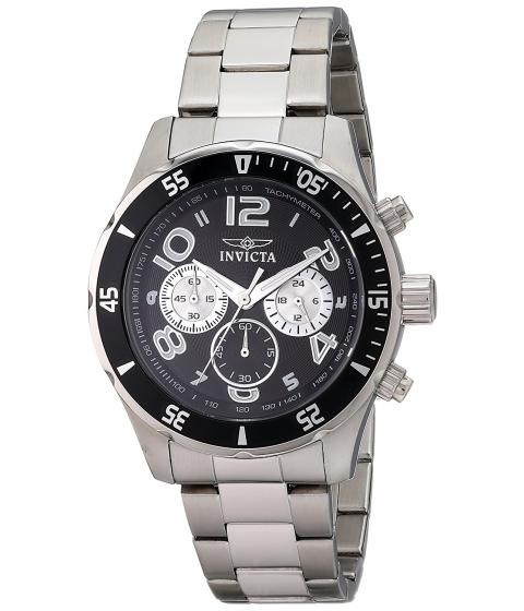 Ceasuri Barbati Invicta Watches Invicta Mens 12910 Pro Diver Stainless Steel Bracelet Watch with Black Dial BlackSilver