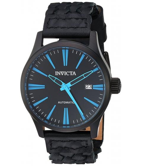 Ceasuri Barbati Invicta Watches Invicta Mens I-Force Automatic Stainless Steel and Leather Casual Watch ColorBlack (Model 23778) BlackBlack