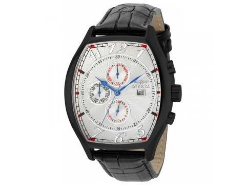 Ceasuri Barbati Invicta Watches Invicta Signature Multi-Function Silver Dial Mens Watch 7512 SilverBlack
