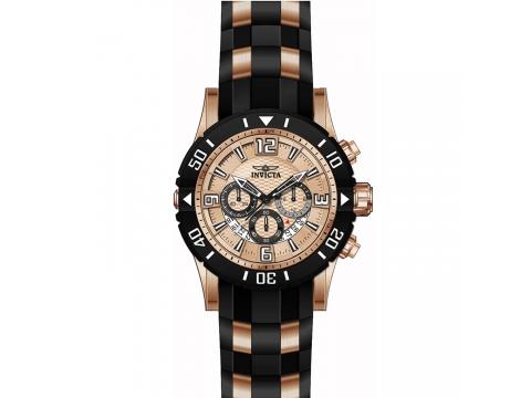 Ceasuri Barbati Invicta Watches Invicta Pro Diver model 23708 Rose GoldBlack Rose Gold