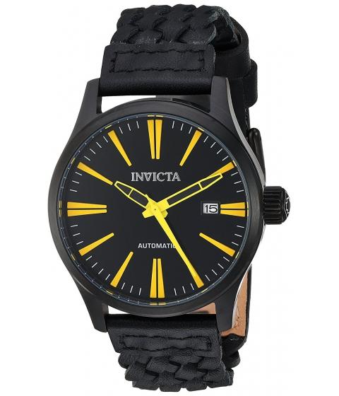 Ceasuri Barbati Invicta Watches Invicta Mens I-Force Automatic Stainless Steel and Leather Casual Watch ColorBlack (Model 23779) BlackBlack