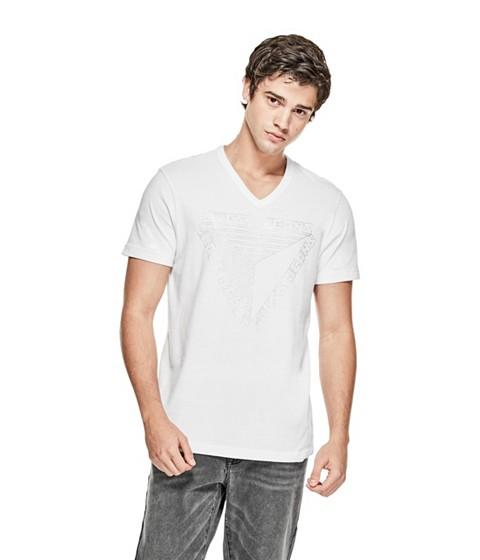 Imbracaminte Barbati GUESS Ivan Graphic Tee true white