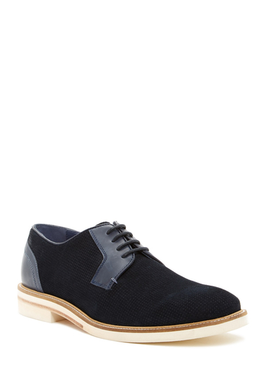 Incaltaminte Barbati Ted Baker London Siablo Perforated Derby DK BLUE