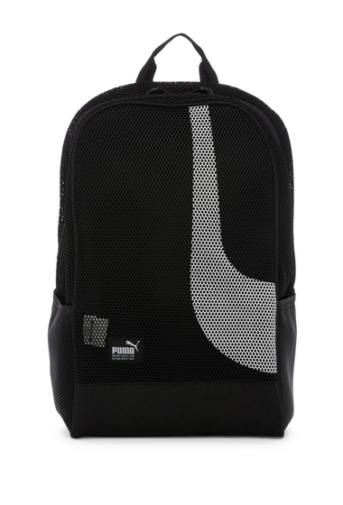 Genti Femei PUMA Evercat Screen Mesh Backpack BLACK