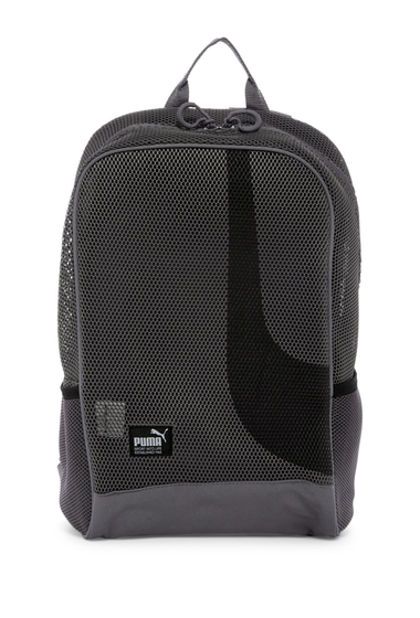 Genti Femei PUMA Evercat Screen Mesh Backpack MEDIUM GREY