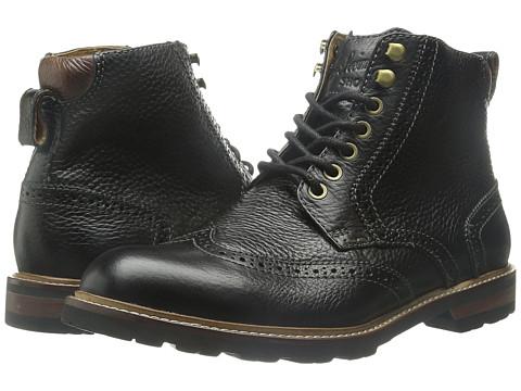 Incaltaminte Barbati Florsheim Kilbourn Wingtop Boot Black Milled