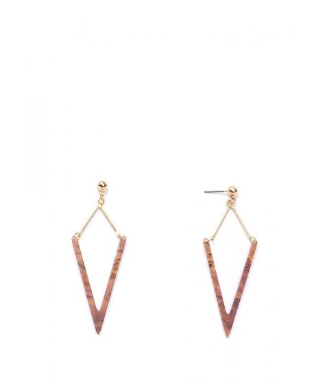 Bijuterii Femei CheapChic Heavenly Angle Faux Stone Earrings Browngold