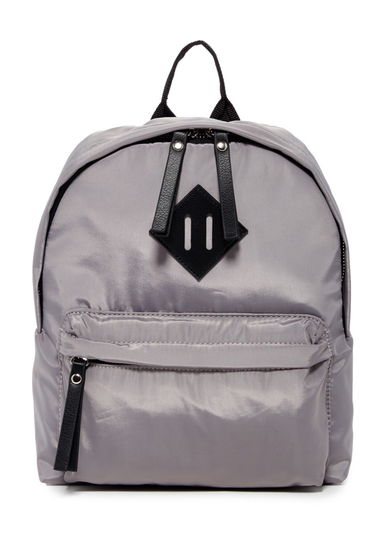 Genti Femei Madden Girl Fictin Mini Backpack LIGHT GREY