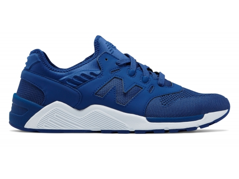 Incaltaminte Barbati New Balance Mens 009 New Balance Blue with White