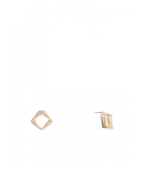 Bijuterii Femei CheapChic Spring In Your Square Wire Earrings Gold