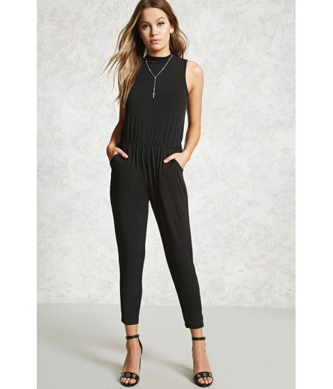 Imbracaminte Femei Forever21 High Neck Jumpsuit Black