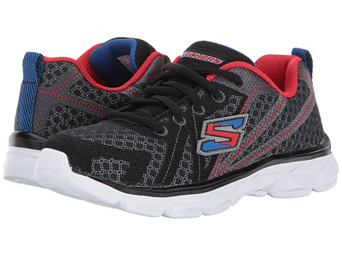 Incaltaminte Baieti SKECHERS Advance Lace-Up Sneaker (Little KidBig Kid) BlackRedBlue