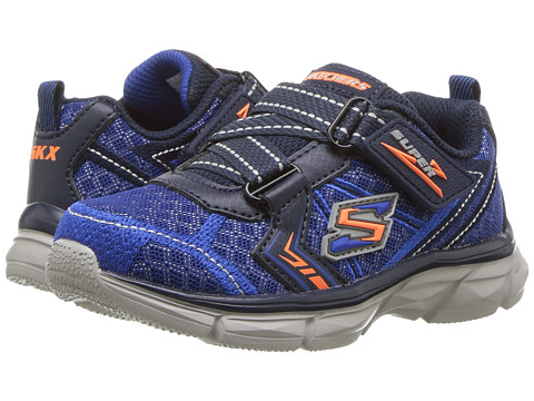 Incaltaminte Baieti SKECHERS Advance Super Z Sneaker (Toddler) BlueNavy