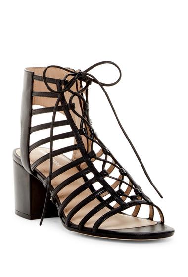 Incaltaminte Femei Pour La Victoire Amabelle Lace-Up Sandal BLACK