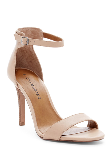 Incaltaminte Femei Lucky Brand Juliett Sandal WHEAT 02