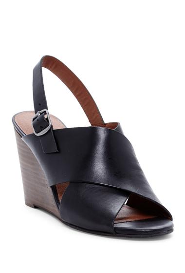Incaltaminte Femei Lucky Brand Reddah Wedge Sandal BLACK 01