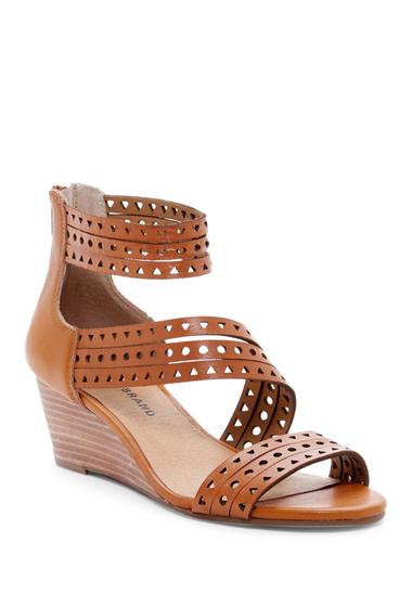 Incaltaminte Femei Lucky Brand Jaleela Wedge Sandal CAFE 02