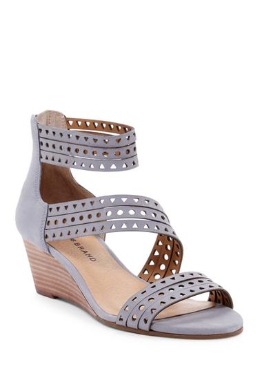 Incaltaminte Femei Lucky Brand Jaleela Wedge Sandal GREY 01