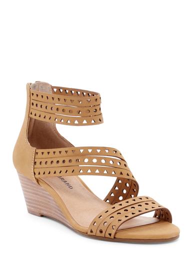 Incaltaminte Femei Lucky Brand Jaleela Wedge Sandal SANDBOX 01
