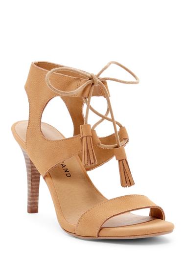 Incaltaminte Femei Lucky Brand Uzelia Ghillie Cage Sandal GLAZED 01