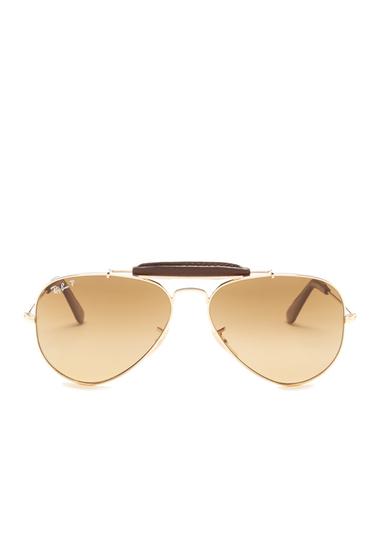 Ochelari Barbati Ray-Ban Unisex Aviator Craft Sunglasses SHINY GOLD