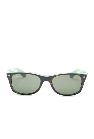 Ochelari Barbati Ray-Ban Mens New Wayfarer Sunglasses TOP HAVANA ON GREEN