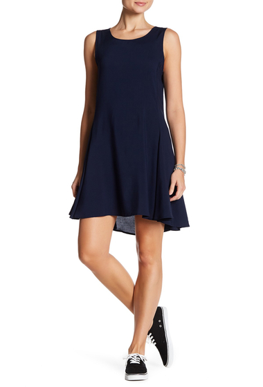 Imbracaminte Femei Splendid Sleeveless Woven Dress NAVY