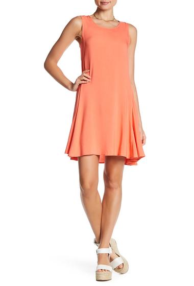 Imbracaminte Femei Splendid Sleeveless Woven Dress GUAVA