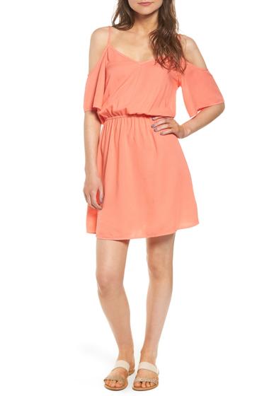 Imbracaminte Femei Splendid Cold Shoulder Dress TRPCAL PCH