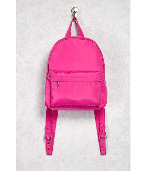 Genti Femei Forever21 Medium Nylon Backpack Hot pink