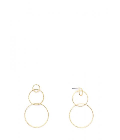 Bijuterii Femei CheapChic Ring It On Triple Hoop Earrings Gold