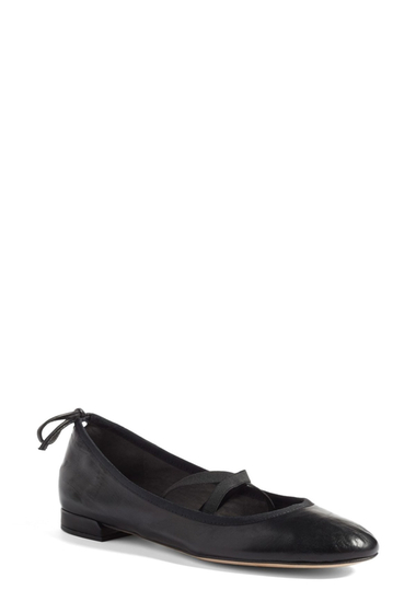 Incaltaminte Femei Stuart Weitzman Bolshoi Ballet Flat - Multiple Widths Available BLACK NAPPA