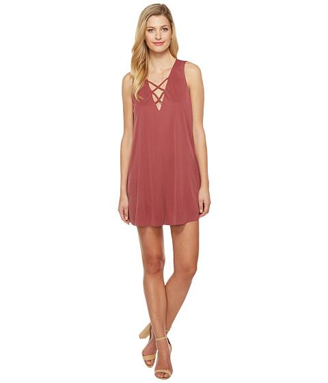 Imbracaminte Femei Culture Phit Maja Sleeveless Dress with Strap Detail Burgundy