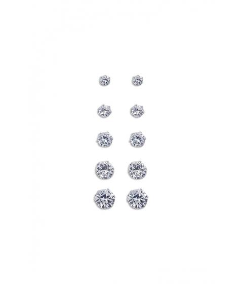 Bijuterii Femei Forever21 CZ Stud Earring Set Silverclear