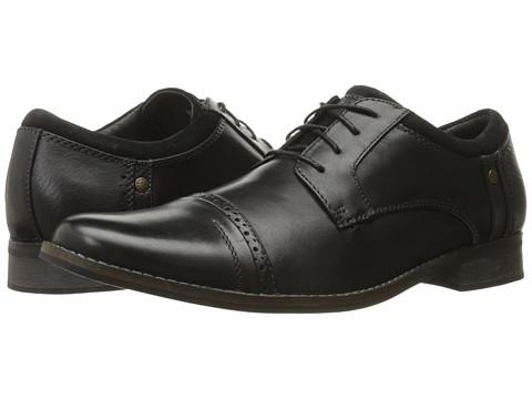 Incaltaminte Barbati SKECHERS Brubeck Black Dress Leather