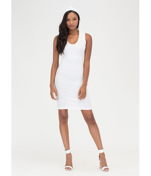 Imbracaminte Femei CheapChic In The Hood Ribbed Midi Dress White