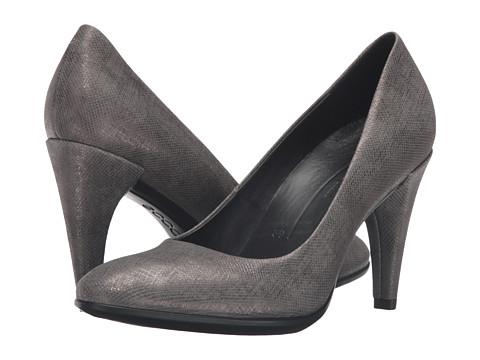Incaltaminte Femei ECCO Shape 75 Sleek Pump Warm Grey Calf Leather