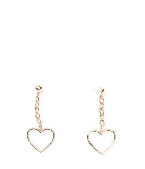 Bijuterii Femei CheapChic Take To Heart Chain Earrings Gold
